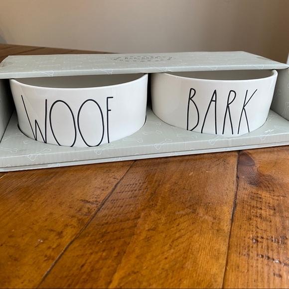 "NWT Rae Dunn 6"" Dog Bowl Set"